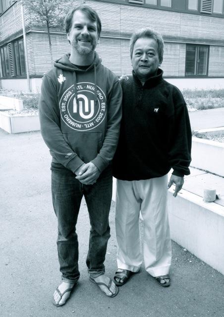 Frédéric de Badereau et Guru Gunawan Rahardja